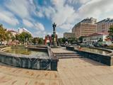 """Памятник """"Святой великомученице Екатерине"""""""